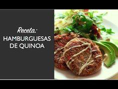 Receta de hamburguesas de quinoa | Venu Sanz