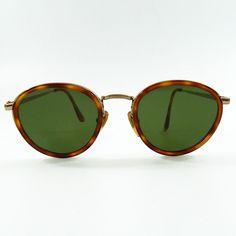 088e203afb32 Georgio Armani Vintage Tortoise Shell Sunglasses Gold Frame and Temples