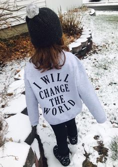 1c10bb59 I will change the world kids hoodie, change the world tee, gender neutral  kid sweatshirt, unisex kid clothes, be the change kids tee, change