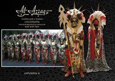 """Traje africano especial fiestas moros y cristianos """"Sahoríns II"""""""