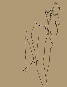 簡單線條完成傳神的女體繪畫 - Ed Hodgkinson 英國藝術家 Ed Hodgkinson 生於 1973 年,目前定居於倫敦。他的作品廣泛的出現在倫敦及國際展覽,如紐約、洛杉磯、東京、開普敦、斯德哥爾摩和雷克雅未克等地。 大型的搪瓷鋁創作顯示出他驚人的圖形創作能力,運用極簡的線條在單一色彩背景上,他將線條的力量發揮到極致。自發、簡單、縮減、並加以實驗,他在描繪模特兒的過程中,將自己的意識灌注到線條之中,或像是 Erika Naginski 所形容的,〝…這體現在不斷變化的想像活動之中〞。