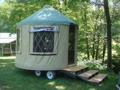"""Yurtle"", a Yurt ""Pop-Up Camper"""