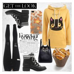 """Hoodies-Rosegal"" by diamond-mara ❤ liked on Polyvore featuring Sam Edelman, Charlotte Olympia and Casetify"