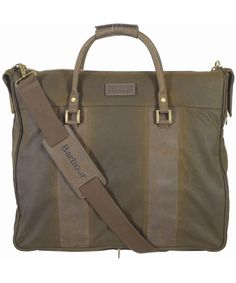 Barbour Waxed Suit Carrier Bag