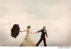 'I'm singing in the rain' look..! In case of a storm