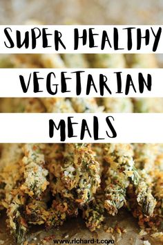 25 AMAZING vegetarian meal ideas! These meatless meals will be loved by you and your family! #MeatlessMeals Vegetarian Lifestyle, Vegetarian Meal, Baked Banana Chips, Damn Delicious Recipes, Lunch Recipes, Dinner Recipes, Butternut Squash Fries, Veggie Fried Rice, Pesto Pasta Salad