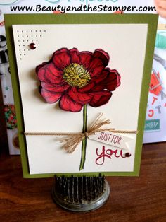 Beauty and the Stamper - Jean Piersanti - Independent Stampin' Up! Demonstrator: Bloom with Hope and Blendabilities