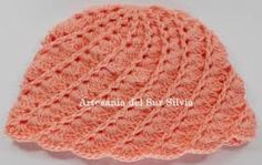 Resultado de imagen para gorros de bb al crochet
