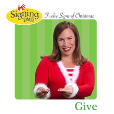 What's the ASL sign for Give? Holiday Signs, Christmas Signs, Christmas Time, Christmas Crafts, Sign Language Book, American Sign Language, Asl Signs, The Nativity Story, Red Sign