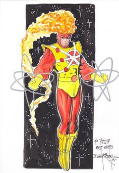 Firestorm by Barry Kitson