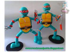 Creaciones Patrix: Tortugas Ninja fofuchas