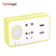 Multi Function USB Charger with LED Light Laptop Teblet Phone Scanner Charger Mobile Support Computer Accessories Socket Computer Supplies, Computer Accessories, Charger, Usb, Laptop, Free Shipping, Phone, Telephone, Phones