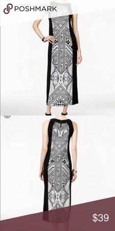 style&co column maxi dress style&co column maxi dress, imported , machine washable ,polyester /spandex Style & Co Dresses Maxi