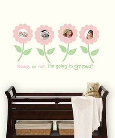 Forget-Me-Not Photo Frame Wall Decal Set by WallPops! on zulily