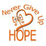 Never Give Up HOPE! CURE MS