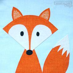 Fox Quilt Applique Patterns | applique patterns