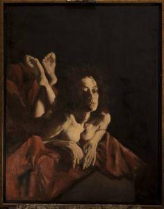 """Saatchi Art Artist Nikos Mourikis; Painting, """"EROS..."""" #art Saatchi Art, Original Paintings, Artist, Artworks, Idea Paint, Artists, Art Pieces"""