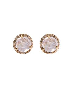 Cz By Kenneth Jay Lane Women S Cer Ear 49 Liked On Polyvore Featuring Jewelry Earrings Gold Cubic Zirconia