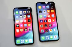 Apple is officially wading into 'phablet' territory with the iPhone XS Max which is only slightly smaller than an iPad Mini (AAPL) Ios Apple, Apple Iphone, Iphone 11, Iphone Cases, Buy Iphone, Android, Ipad Mini, Diy Design, K Store