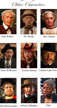 GWTW Characters