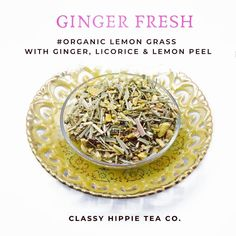 Guess What!!! Drinkinga glass of#GingerTeaevery daycan help strengthen your digestive system and prevent indigestion, nausea, and heartburn. #TeaFacts #CaliforniaTea  #Tea Tea Facts, Ginger Tea, Heartburn, Lemon Grass, Drinking, Classy, Organic, Fresh, Canning