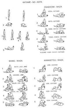 Osaekomi waza, shime waza and kansetsu waza Martial Arts Quotes, Martial Arts Workout, Martial Arts Training, Boxing Workout, Karate, Aikido, Muay Thai, Judo Training, Muscle Training