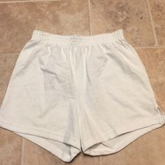 Soffe - white - NWOT - size small White Soffe - NWOT. Never worn. Size small Soffe Shorts
