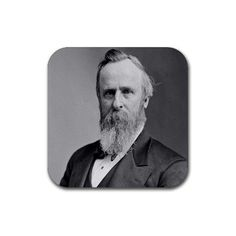 President Rutherford B. Hayes Coasters - Set of 4 by MyHeritageWear. $14.99. The image of President Rutherford B. Hayes comes on a set of four coasters. Considered to be one of the country's most beloved Presidents, Rutherford B. Hayes will now be able to preserve your home and office furniture just as he did with our Great Nation! These coasters featuring President Rutherford B. Hayes have a corked bottom, with a hard based surface. The image of President Ruther...