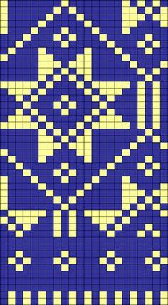 Chart for Latvian mittens #6 | osloann | Flickr