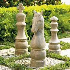 Someday I will have an alice theme garden complete with a life size chess board!!!