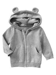 Paddington Bear™ for babyGap bear marled sweater hoodie / Gap