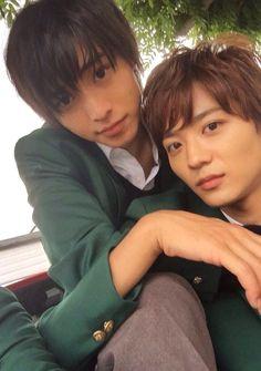 Huge hit \(^o^)/ over 2.5 million viewers Kento (a girl?) x Ryo [MV, orange ver, Dec/06/15] https://www.youtube.com/watch?v=nwhkIfS8b6E&feature=youtu.be Kobukuro -- Mirai (Future), orange theme song, Kento Yamazaki x Tao Tsuchiya, Release: 12/12/'15