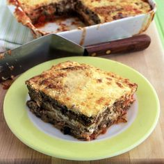 This eggplant ricotta bake satisfies a craving for simple comfort food.