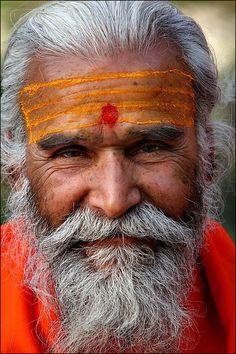 by oochappan. A holy Sadhu of India.