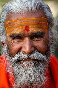 'Without words' by oochappan. A holy Sadhu of India.