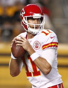 Alex Smith Photos - Wild Card Playoffs - Kansas City Chiefs v Indianapolis Colts - Zimbio Kansas City Chiefs Football, Nfl Football, Football Helmets, Super Bowl 54, Kirk Cousins, City Pride, Indianapolis Colts, Champion, Husband