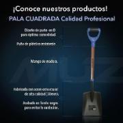 Pala Cuadrada Muzin XHT150  #pala #jardineria #construccion #fumitienda #muzin #virtualmall @fumitienda