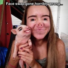 Face swap gone horribly wrong...
