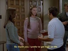 freaks and geeks.wish it was still on. the originals: james franco and seth rogan.