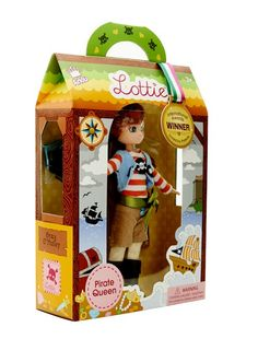 Pirate Queen Lottie Doll - see more at: http://www.lottie.com/collections/all-products/products/pirate-queen-lottie-doll