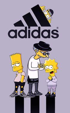 Adidas Oh those Russian science labs Simpson Wallpaper Iphone, Hype Wallpaper, Cartoon Wallpaper, Iphone Wallpaper, Bart Simpson Tumblr, Dragonball Anime, Rauch Fotografie, Simpsons Art, Supreme Wallpaper