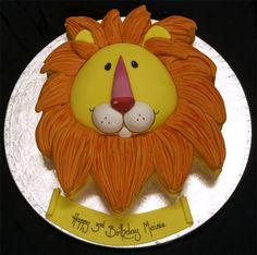 http://birthdaycakeideas.blogspot.com/2011/02/lion-birthday-cakes.html#      Birthday Cake: Lion Birthday Cakes