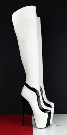 Thin High Heel Platform Thigh High Boots (Boots can be producedwith thicker heels if requested at checkout - in notes part ) Big sizes are also available. Sizes from eu33 to eu 45 (eu33 is 21 cm feet lenght, eu45 is30 cm feet lenght) You can inform us with your leg ( calf and ankle circumferences ) , we can make Knee High Platform Boots, Thigh High Boots Heels, Knee Boots, Heeled Boots, Platform Mules, Beige Boots, Botas Sexy, Thick Heels, Long Boots