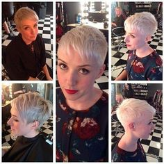 Very Short Pixie Hair