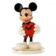 Lenox Disney | Lenox/Disney Love Struck Mickey Figurine
