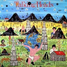 Talking Heads-Little Creatures howard finster album cover art - Iconic Album Covers, Greatest Album Covers, Classic Album Covers, Jazz, Vinyl Lp, Vinyl Records, Lp Cover, Cover Art, Vinyl Cover