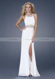 Weisse Abendkleid Abiballkleid Ballkeid Sexy White Prom Dress auf DIYdress.de