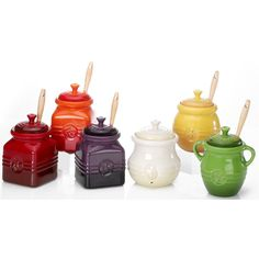 Le Creuset Stoneware 16-Ounce Berry Jam Jar (Cherry Red): Amazon.ca: Home & Kitchen