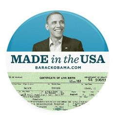 U.S. CITIZENSHIP NEEDED TO BUY OBAMA PRODUCTS >> Sometimes irony can be pretty ironic, even for the president of the United States.      While Barack Obama is selling items such as mugs, buttons and T-shirts in his online store to cash in on controversy over his birthplace and eligibility, it seems anyone i