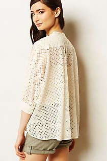 Anthropologie - Zephyr Eyelet Tunic